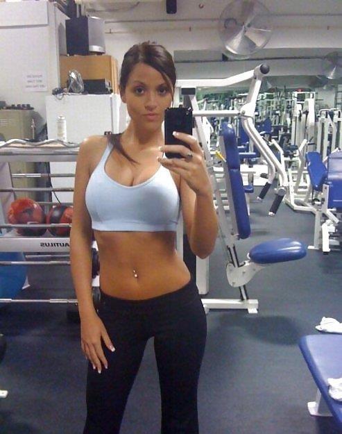 Sexy gym girl pics-1382