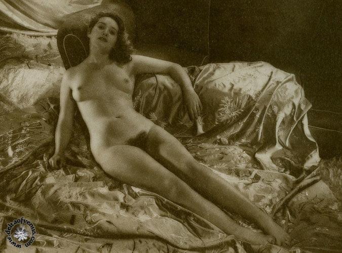 Vintage hairy nude-4071