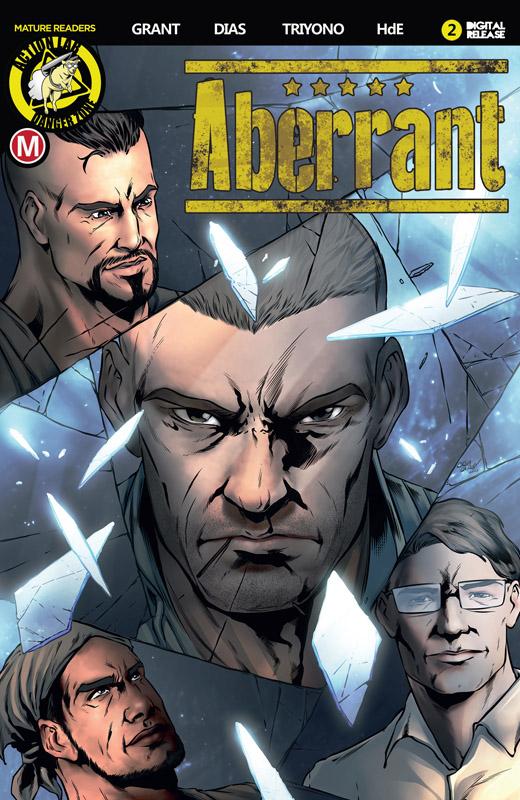 Aberrant #1-5 (2018) Complete