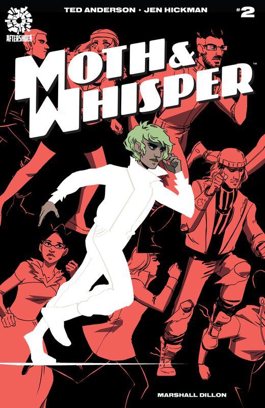Moth & Whisper #1-5 (2018-2019)