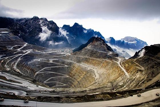 Grasberg miniera