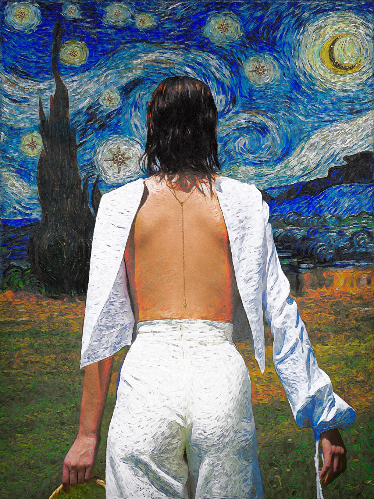 Реклама ювелирных изделий в стиле Ван Гога / фото 04