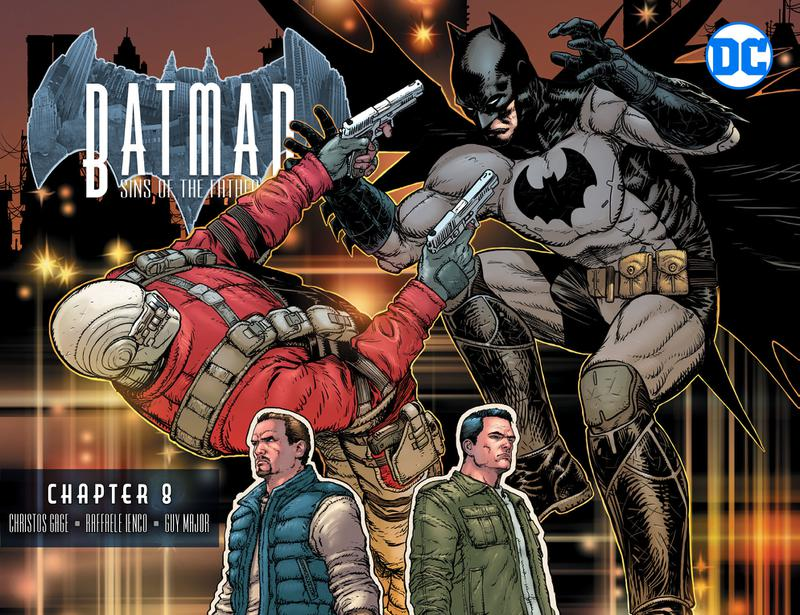 Batman - Sins of the Father #1-12 (2018)