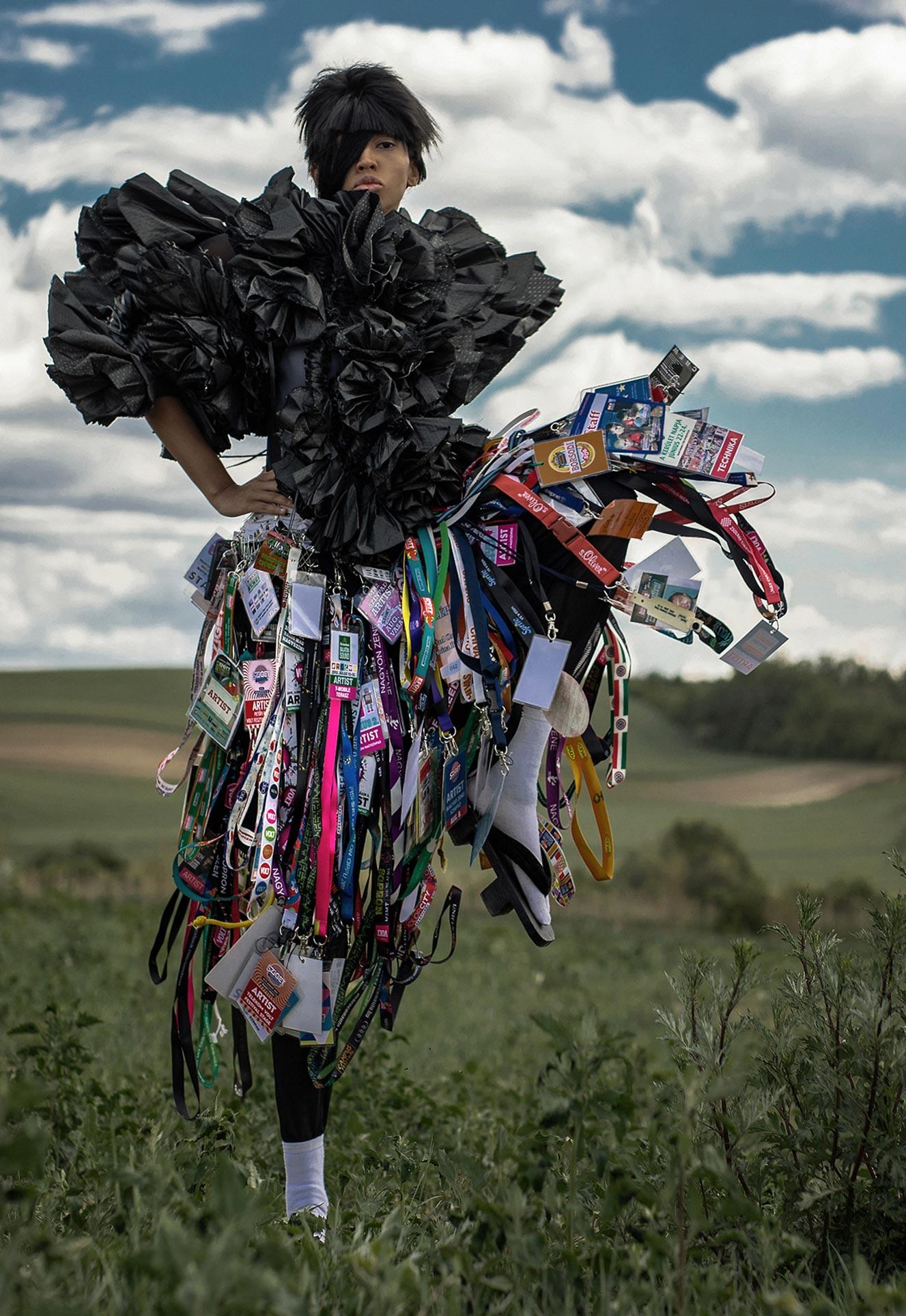 Нетрадиционный взгляд на модную одежду / фото 11