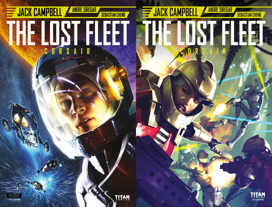 The Lost Fleet - Corsair #1-5 (2017-2018) Complete