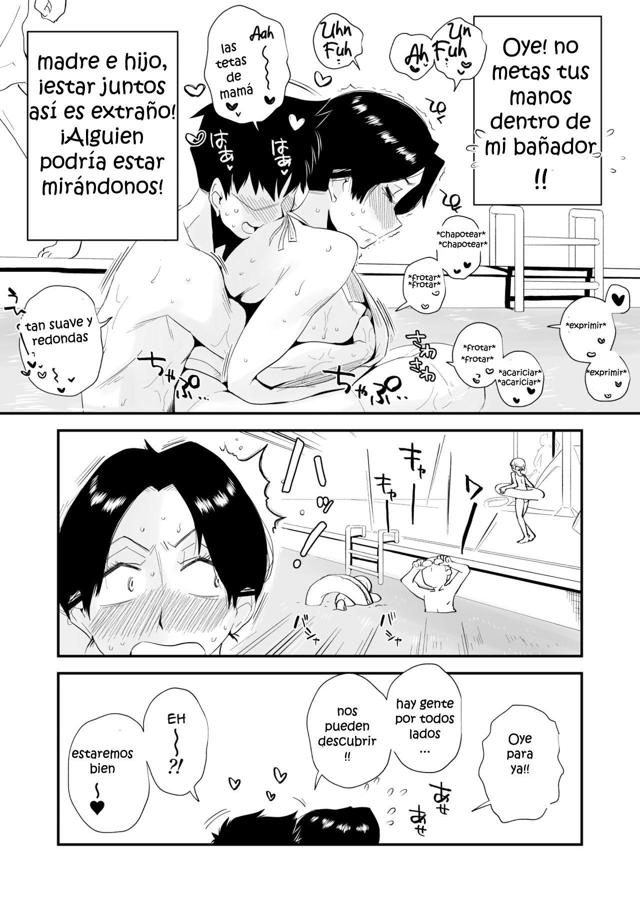 Ano Okaa-san no shousai Piscina publica - 12
