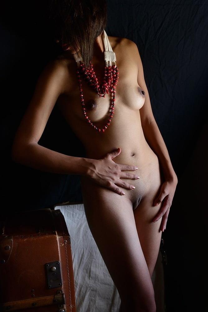 Ebony black naked women-3843