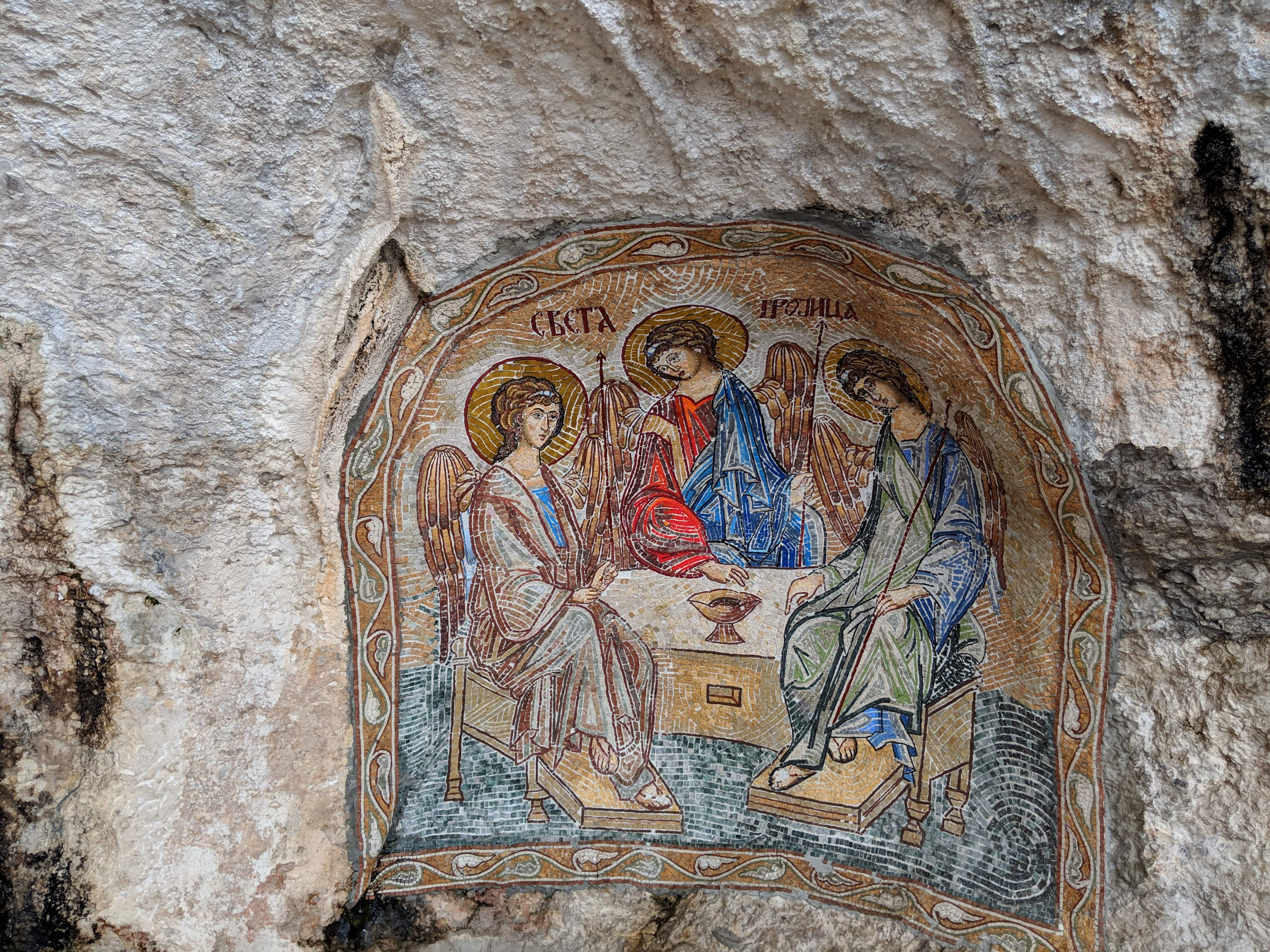 Paintings at Ostrog Monastery