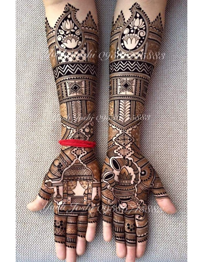 Simple and Unique Mehndi Designs for Hands