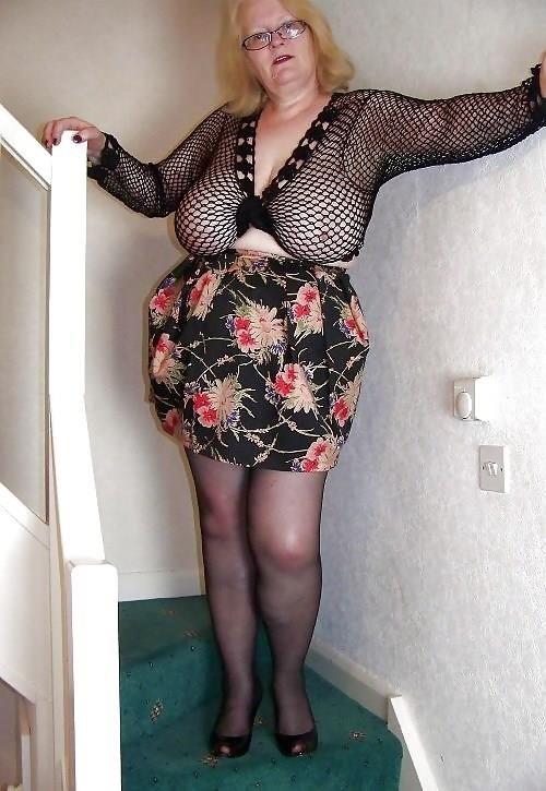 Granny big tit pics-5329