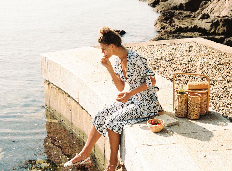 Отдыхаем на пляжах Хорватии с фотомоделью Мэдисон Хедрик / фото 02
