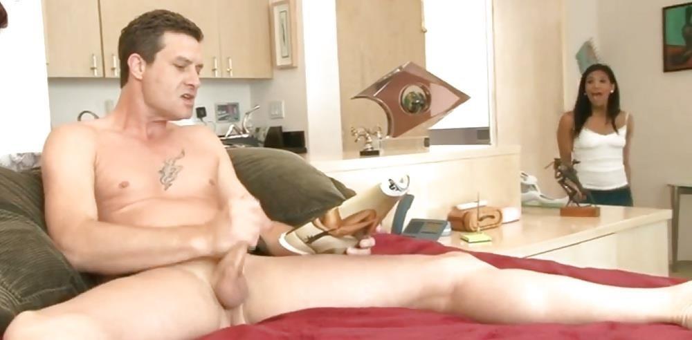 Japanese mom caught masturbating-5807