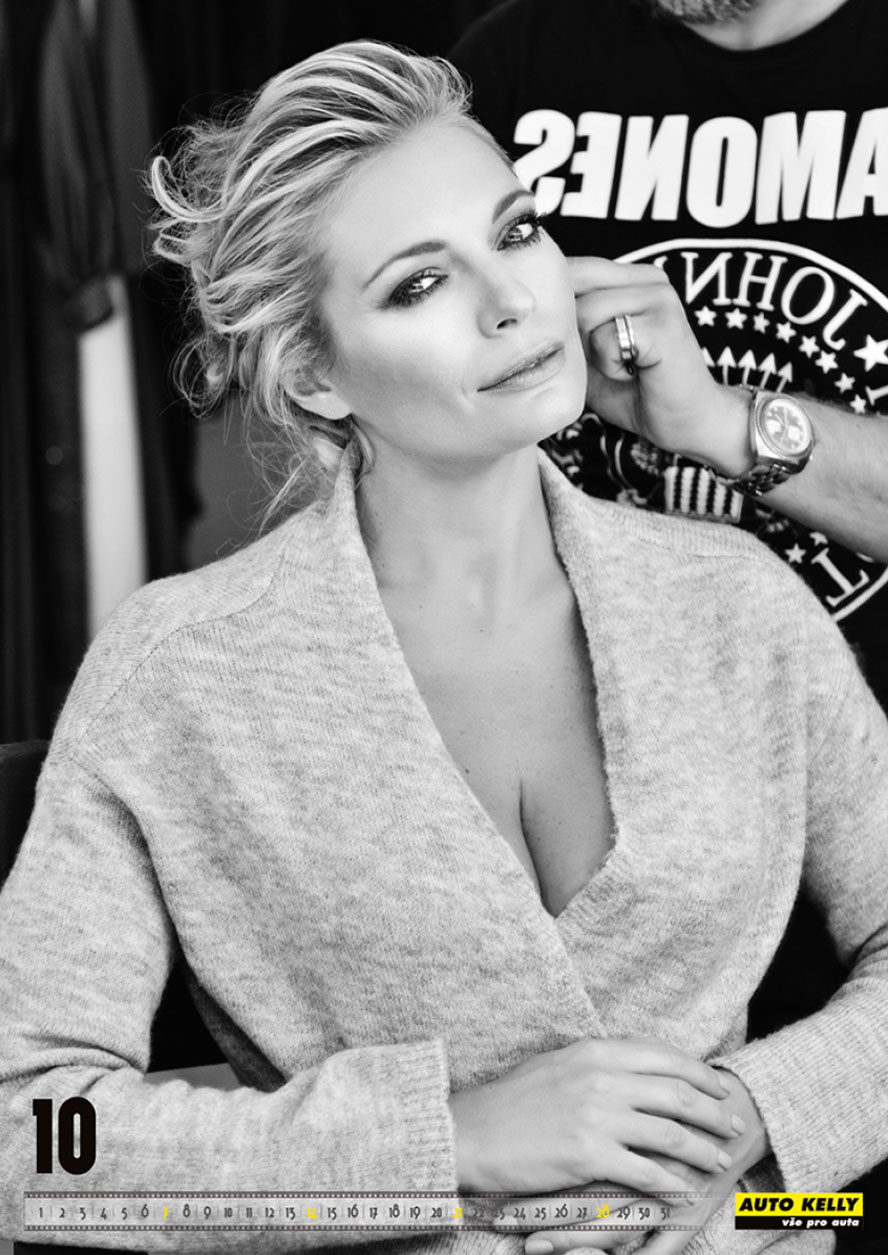 Lucie Borhyova - Auto Kelly 2018 calendar