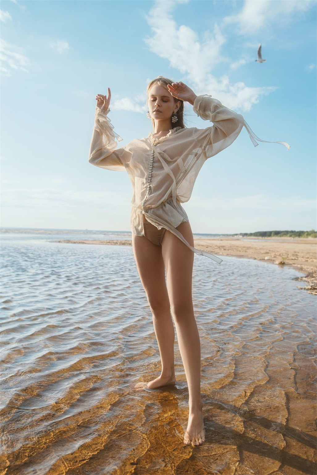Отдых на Финском заливе с Анастасией Щегловой / Golden Moments - Anastasiya Scheglova by Tatiana Mertsalova
