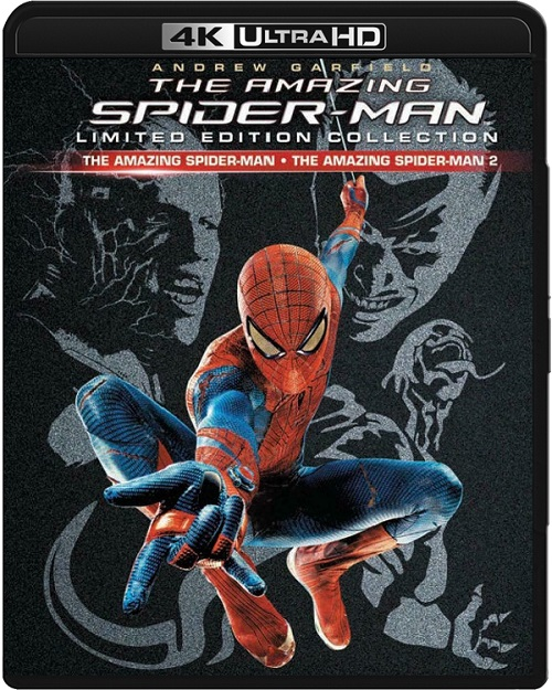 Niesamowity Spider-Man / The Amazing Spider-Man (2012-2014) DUOLOGY.MULTi.REMUX.2160p.UHD.Blu-ray.HDR.HEVC.ATMOS7.1-DENDA / LEKTOR, DUBBING i NAPISY PL