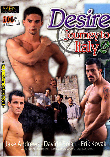 Journey To Italy 2 / Путешествие в Италию 2 (Lucas Kazan, Men of Odyssey) [1999 г., Muscles, Oral/Anal Sex, Outdoors, Blowjob, Masturbation, Cumshots, DVDRip]