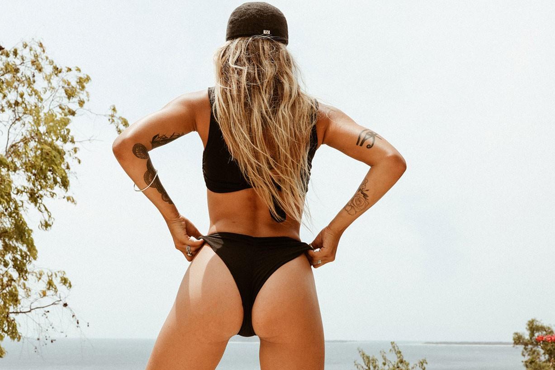 Cathlin Ulrichsen, Heidi Ngaemma, Miranda Dossantos by Natalie Rychart and Brendan Bannister - Talie Golds swimwear 2017