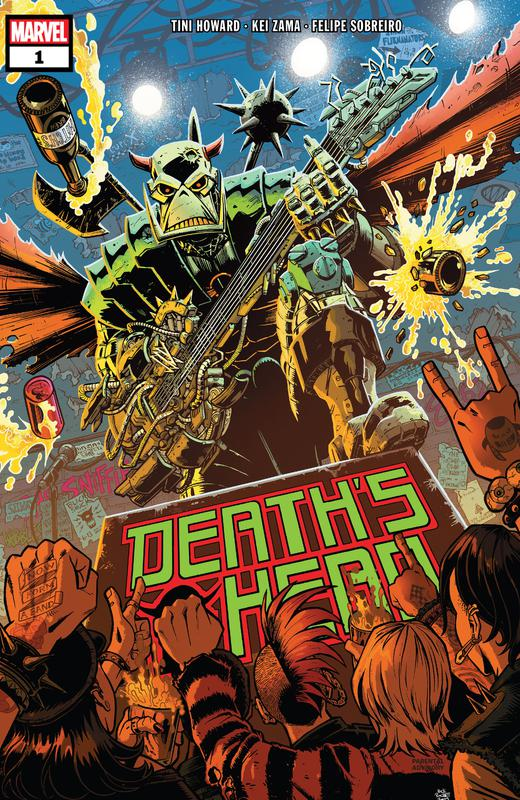 Death's Head #1-4 (2019) Complete