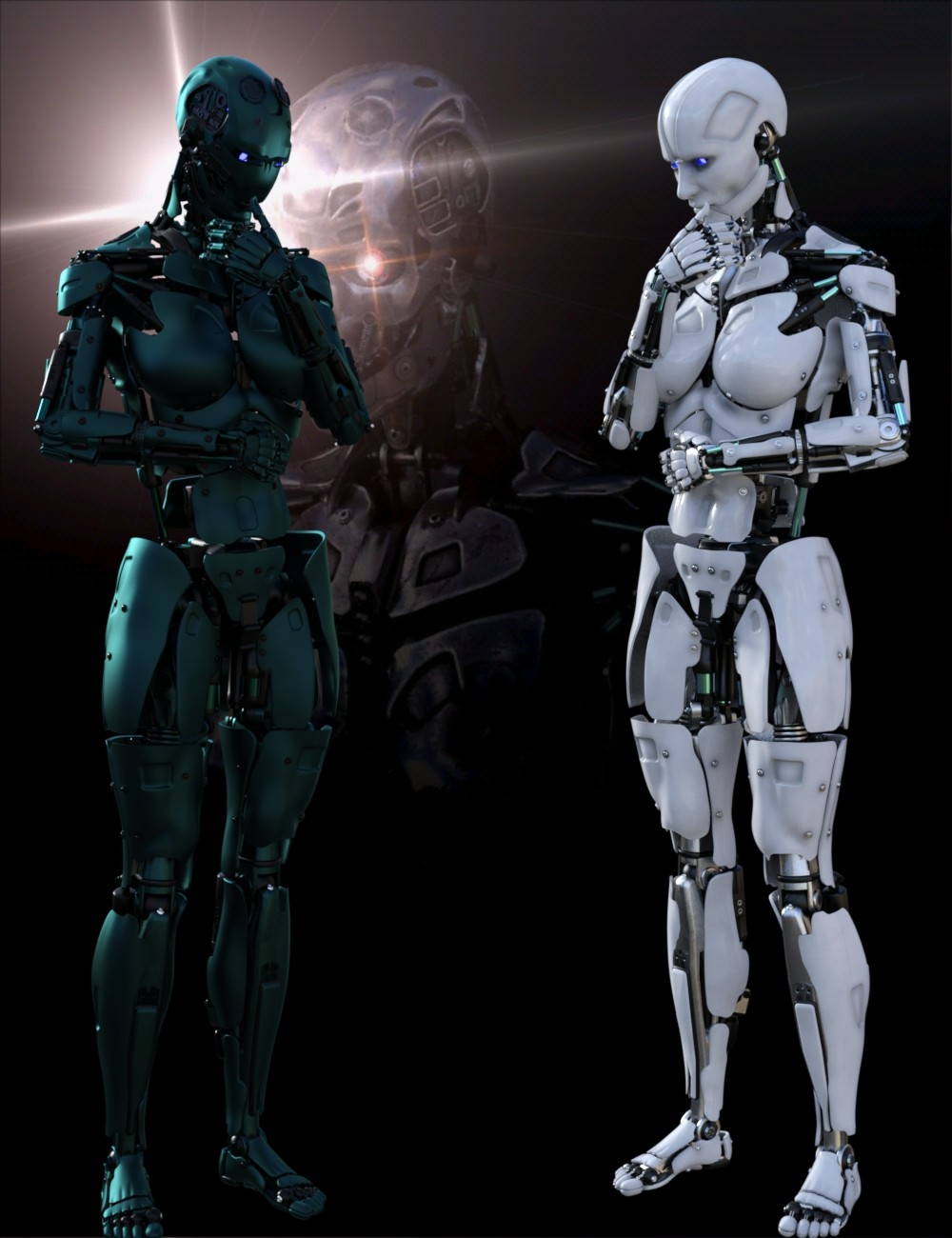 Cyborg Generation 8 Female