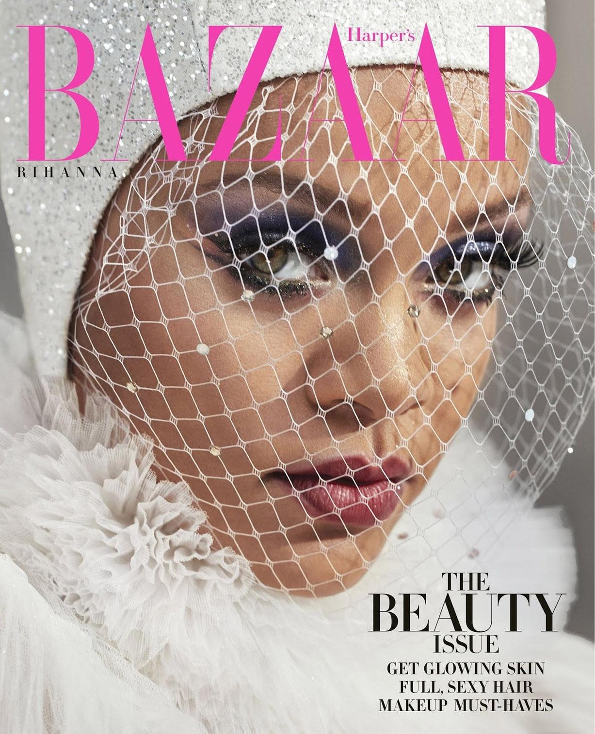 Rihanna by Dennis Leupold / Harpers Bazaar US may 2019