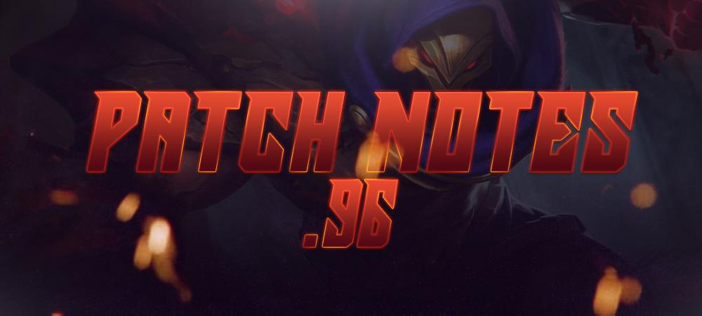 Patch Notes 1 2 96 [Advance Server] - News - Mobile Legends: Bang