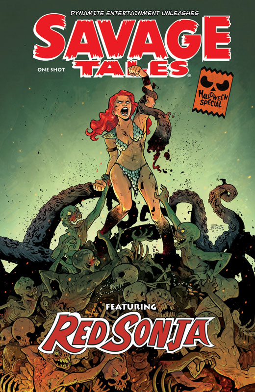Savage Tales - A Red Sonja Halloween Special (2019)