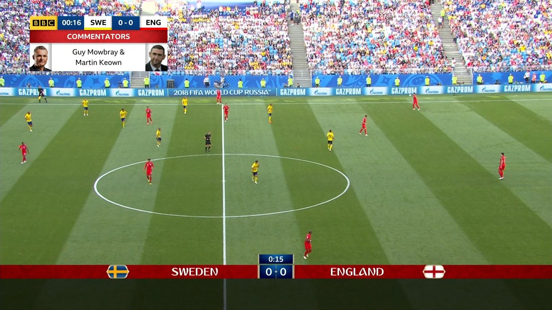 Xem lại: Thụy Điển vs Anh