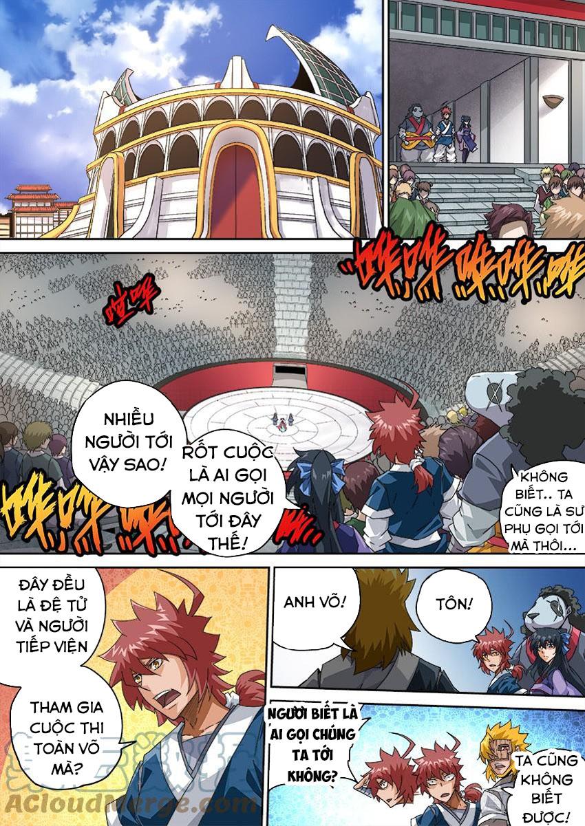 Quyền Bá Thiên Hạ Chapter 256