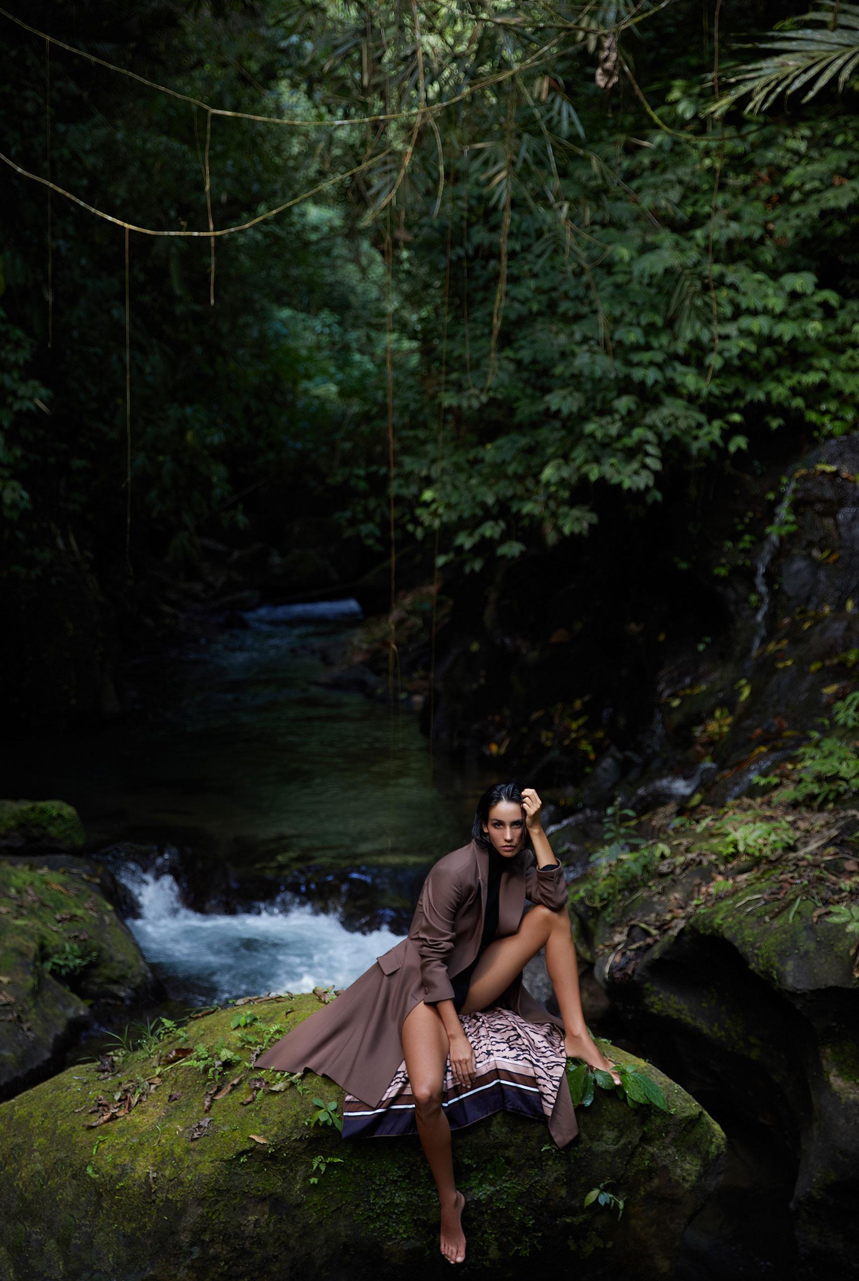 прогулка по природным заповедникам Бали / Kristina Melnikova by Carla Guler - SCMP Magazine