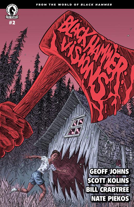 Black Hammer - Visions #1-8 (2021) Complete