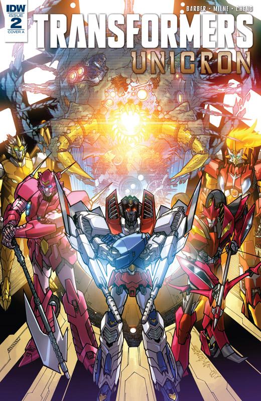 Transformers - Unicron #0-5 (2018)