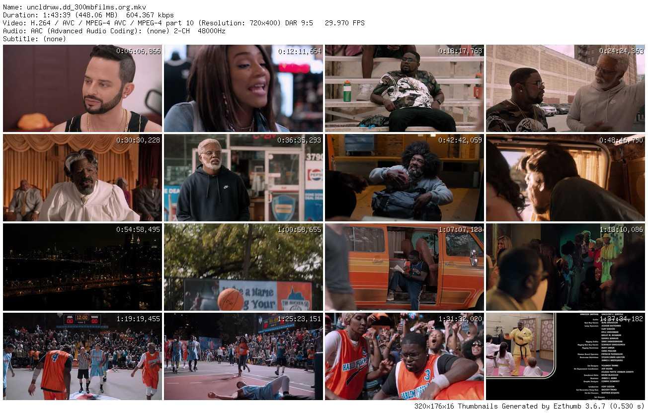 Uncle Drew (2018) DVDRip 450MB nItRo
