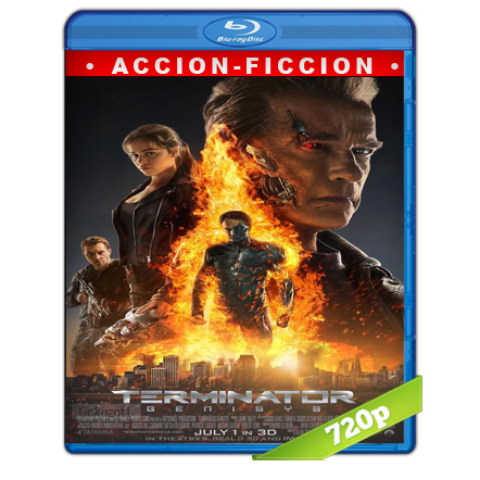 El Exterminator 5 Genesis (2015) BRRip 720p Audio Trial Latino-Castellano-Ingles 5.1