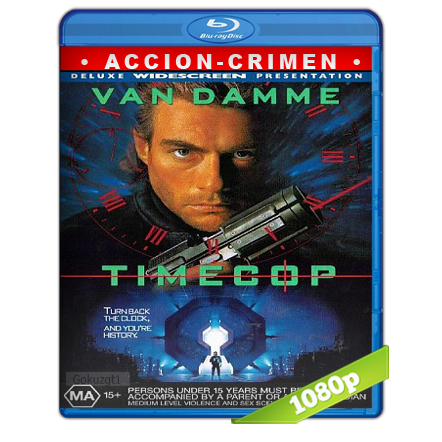 Timecop Policia Del Futuro (1994) BRRip Full 1080p Audio Trial Latino-Castellano-Ingles 5.1