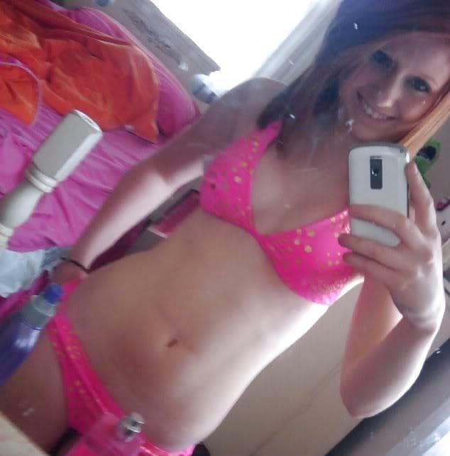 Ginger teen nude selfie-4207