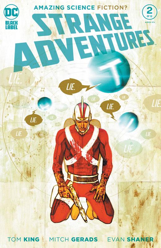 Strange Adventures #1-4 (2020)