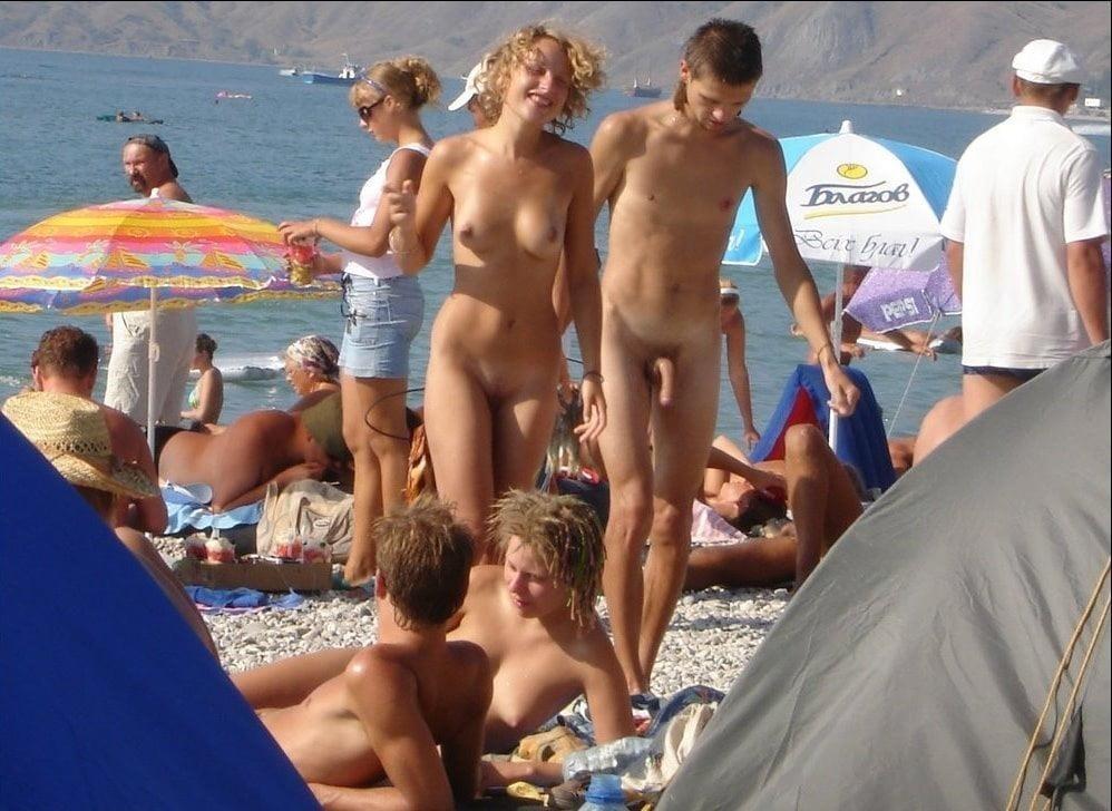 Nude beach bukake-4471