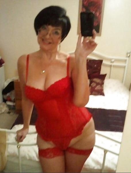 Granny big boob pic-1561
