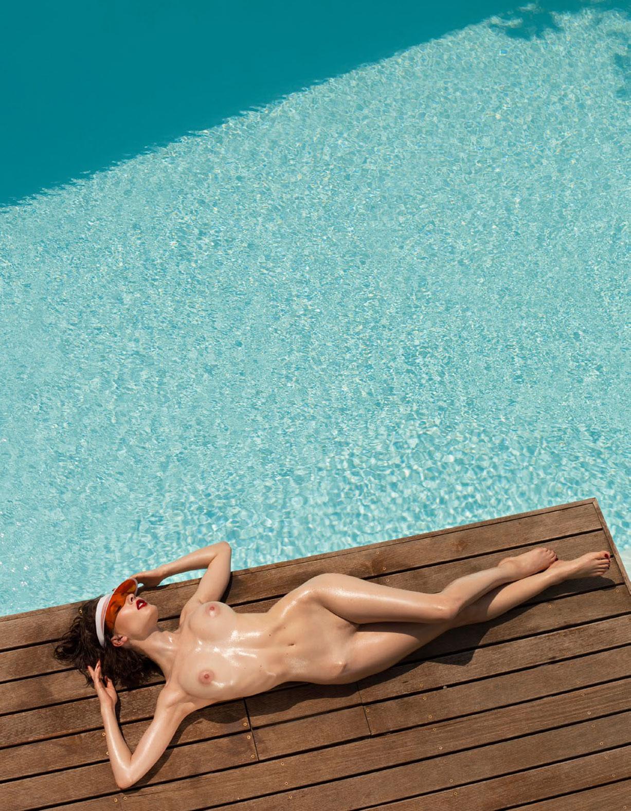 Каприс Кастильо в спецвыпуске журнала Playboy -Девушки летом- / фото 05