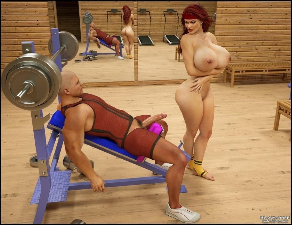 Pornhub in the gym-7771