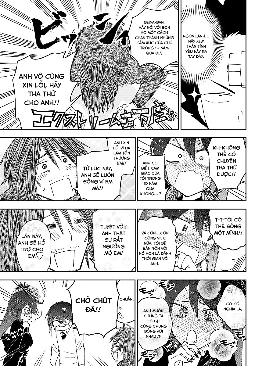 Hatsukoi Zombie Chapter 83 - Trang 14