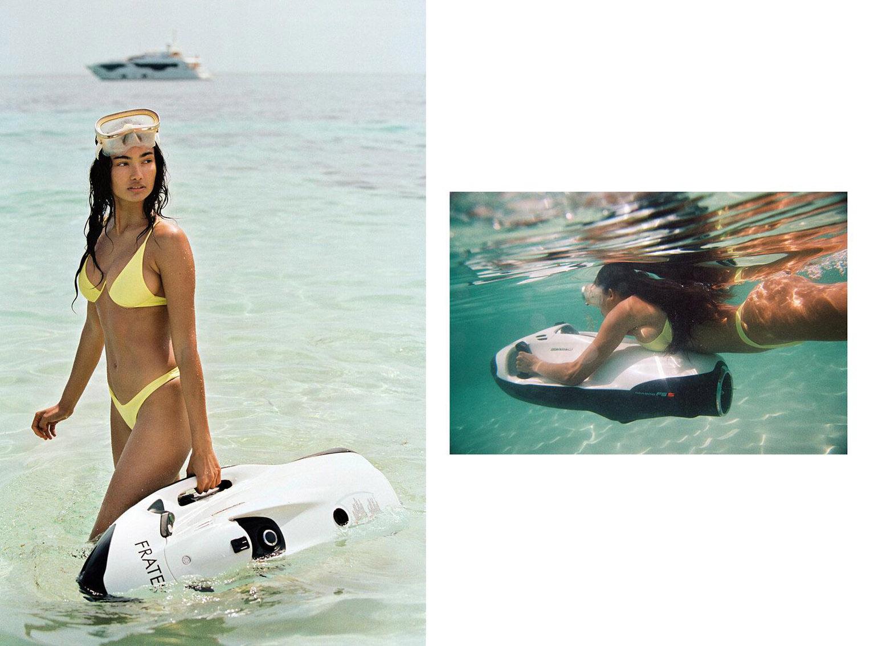 Келли Гейл в купальниках модного бренда Bamba Swimwear, лето 2020 / фото 24