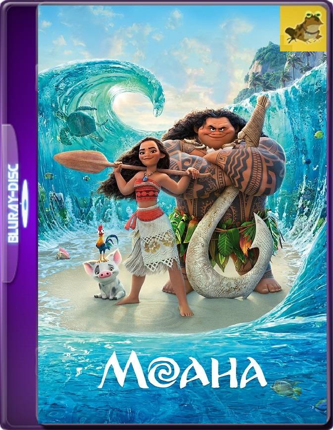 Moana (2016) Brrip 1080p (60 FPS) Latino