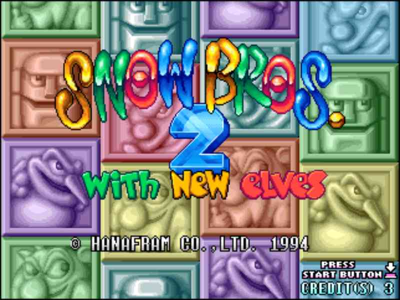 Snow Bros. 2 – with new elves Retro PC Oyunu İndirmeden Oyna