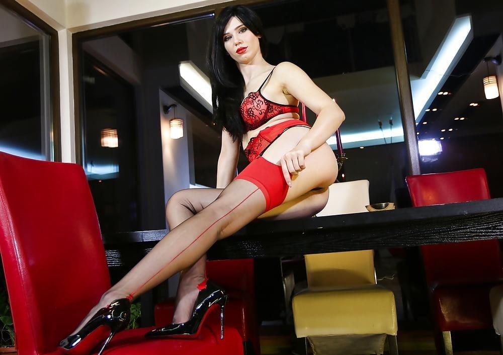 Foot nylon mistress-7137