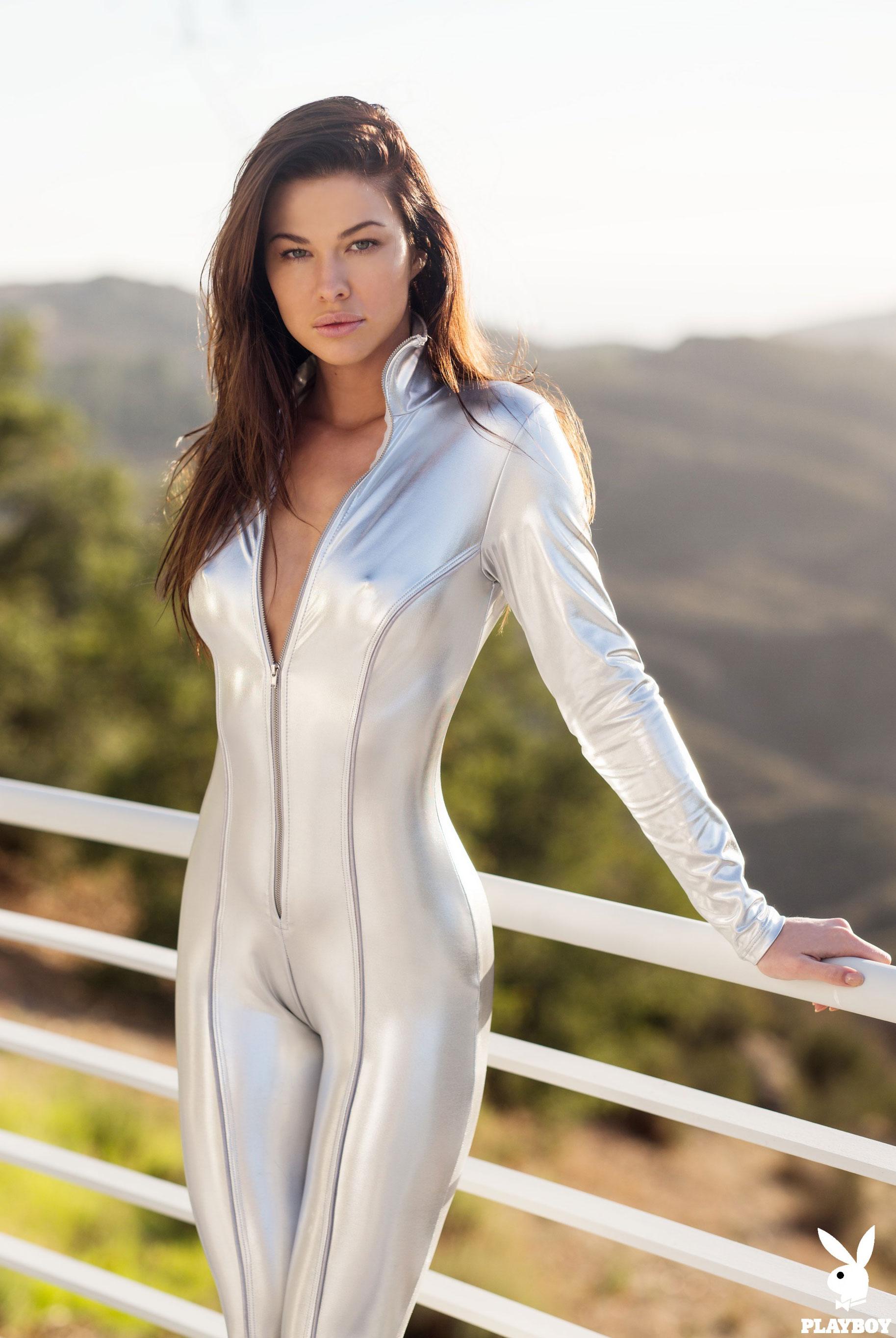 Девушка месяца Jenny Watwood / Playboy США, март 2018 / фото 09