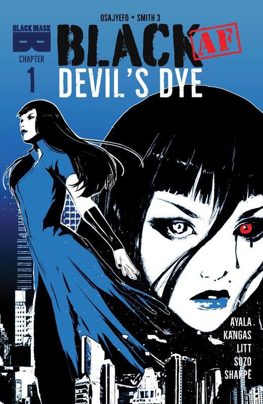 BLACK (AF) - Devil's Dye 001 (2018)