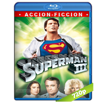 Superman 3 (1983) BRRip 720p Audio Trial Latino-Castellano-Ingles 5.1