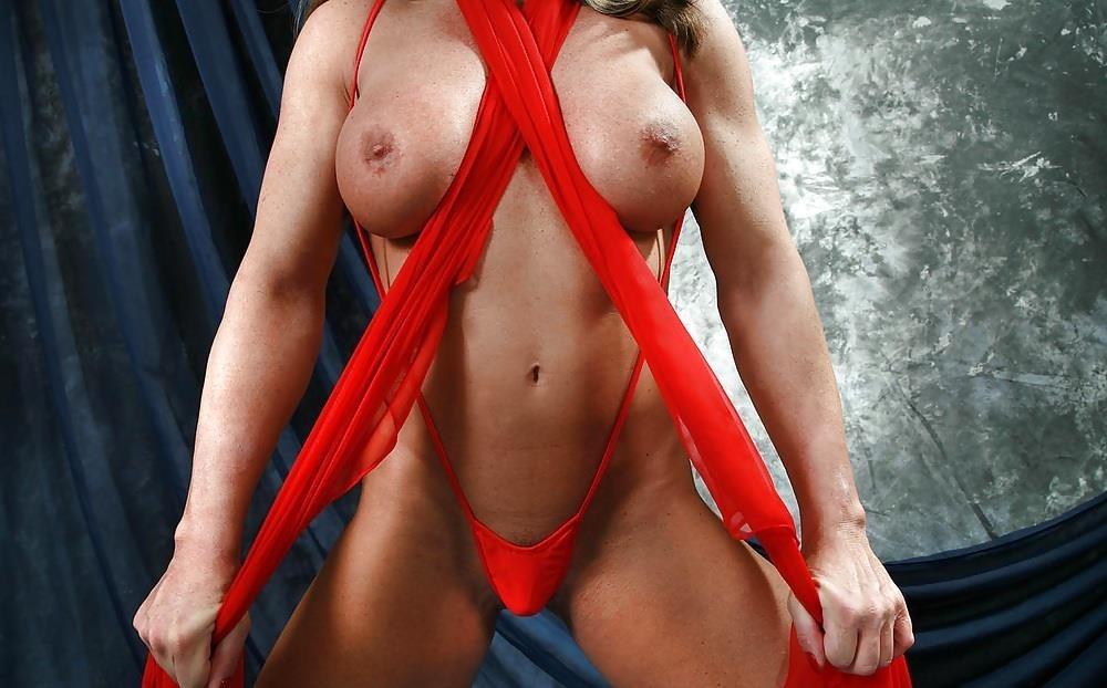 Female bodybuilders with huge clits-9770