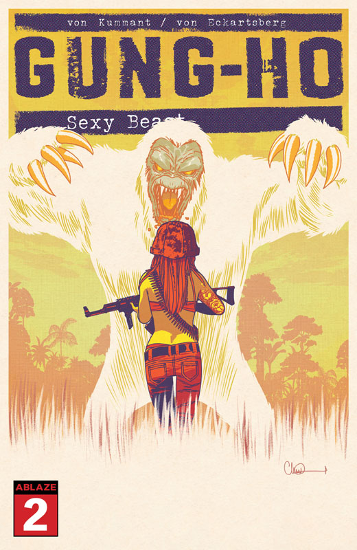 Gung-Ho - Sexy Beast #1-3 (2020-2021)